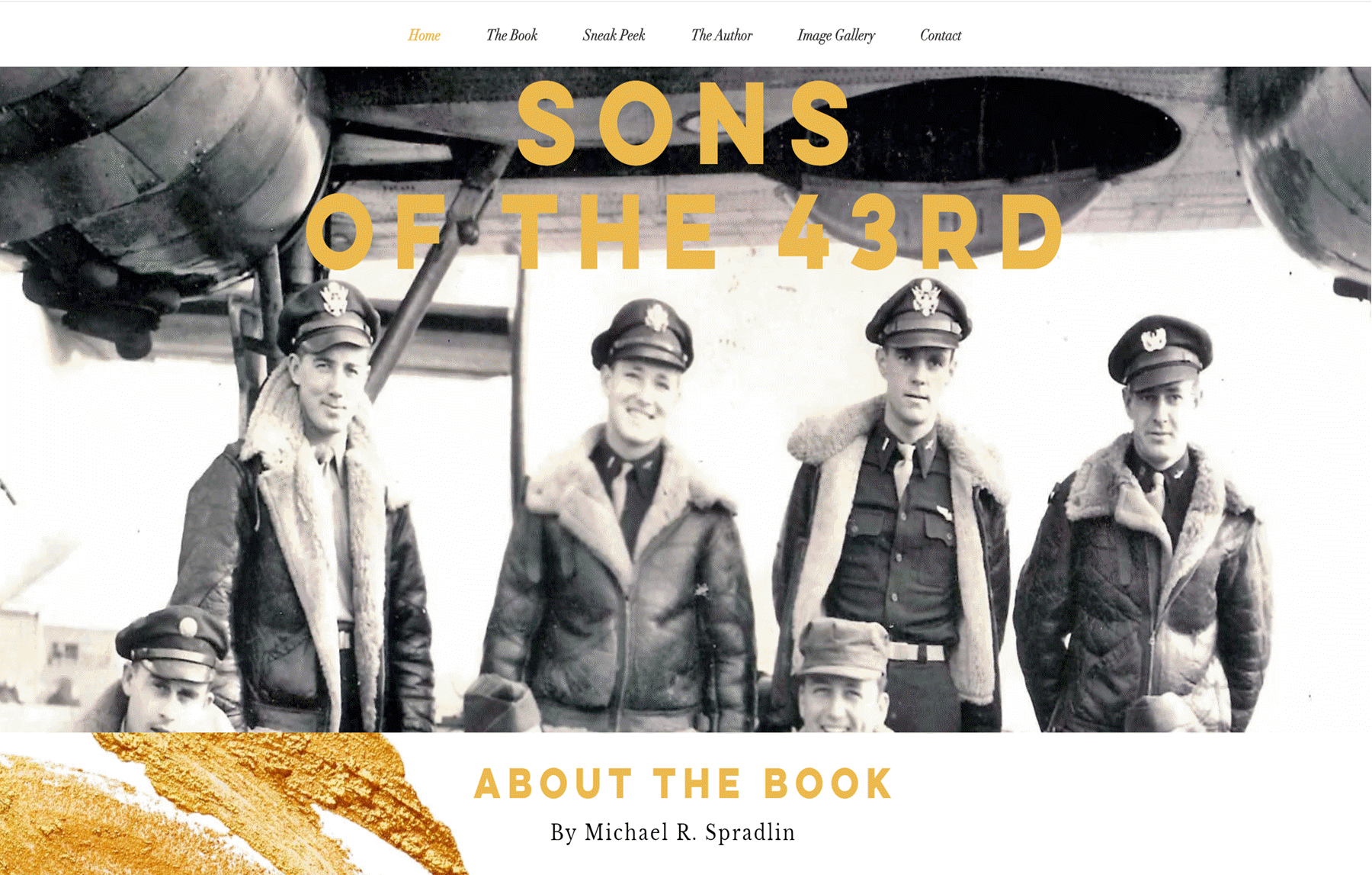 Sons of the 43rd by Michael Spradlin website